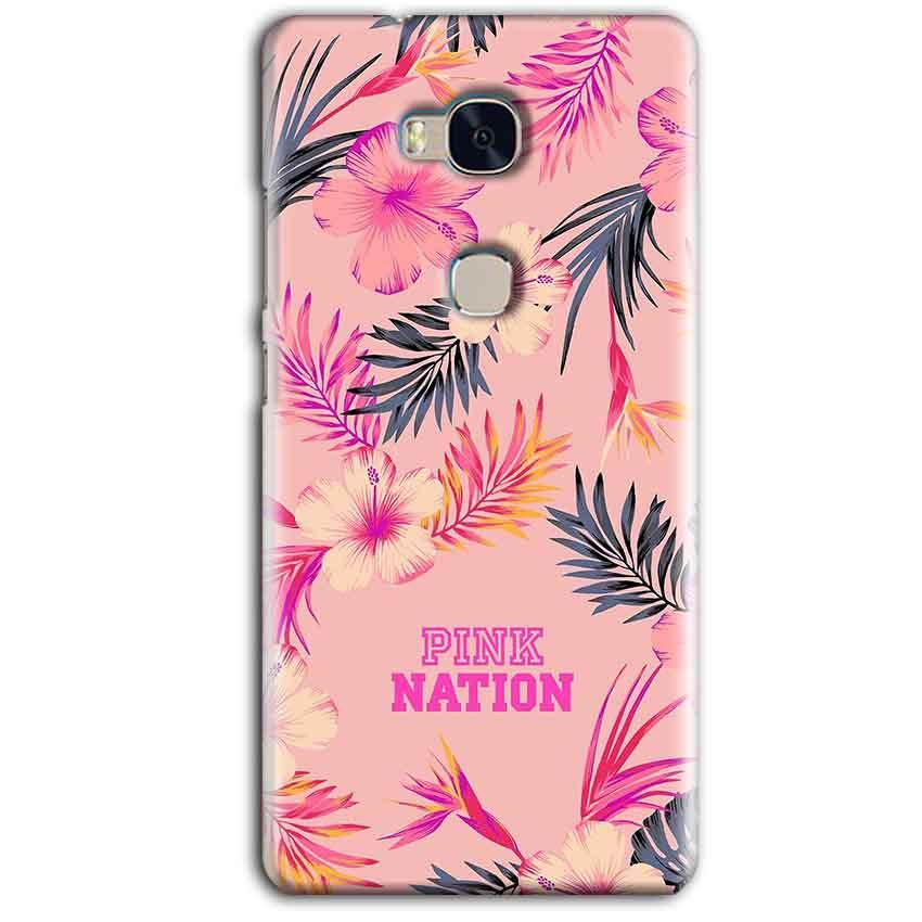 Huawei Honor 5X Mobile Covers Cases Pink nation - Lowest Price - Paybydaddy.com