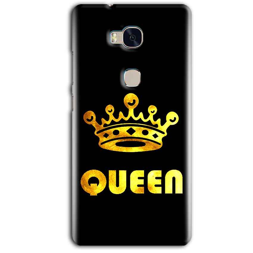 Huawei Honor 5X Mobile Covers Cases Queen With Crown in gold - Lowest Price - Paybydaddy.com
