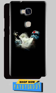 Huawei Honor 5X Mobile Covers Cases Shiva Aghori Smoking - Lowest Price - Paybydaddy.com