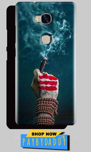 Huawei Honor 5X Mobile Covers Cases Shiva Hand With Clilam - Lowest Price - Paybydaddy.com