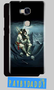Huawei Honor 5X Mobile Covers Cases Shiva Smoking - Lowest Price - Paybydaddy.com