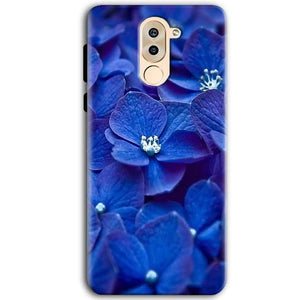 Huawei Honor 6X Mobile Covers Cases Blue flower - Lowest Price - Paybydaddy.com
