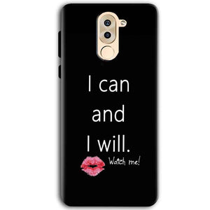 Huawei Honor 6X Mobile Covers Cases i can and i will Lips - Lowest Price - Paybydaddy.com