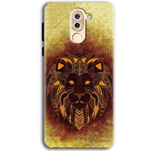 Huawei Honor 6X Mobile Covers Cases Lion face art - Lowest Price - Paybydaddy.com