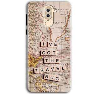 Huawei Honor 6X Mobile Covers Cases Live Travel Bug - Lowest Price - Paybydaddy.com