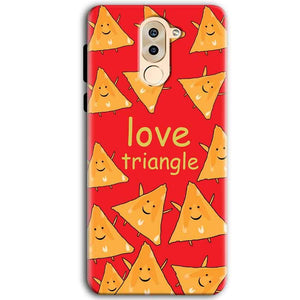 Huawei Honor 6X Mobile Covers Cases Love Triangle - Lowest Price - Paybydaddy.com