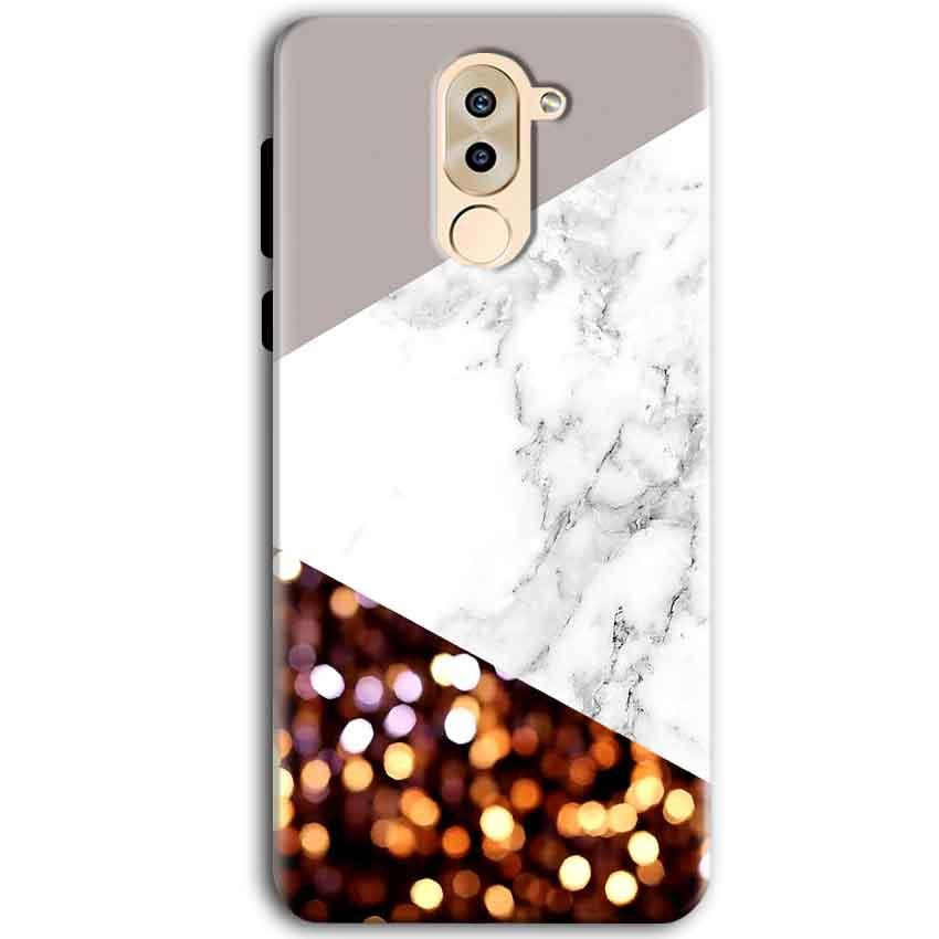 Huawei Honor 6X Mobile Covers Cases MARBEL GLITTER - Lowest Price - Paybydaddy.com