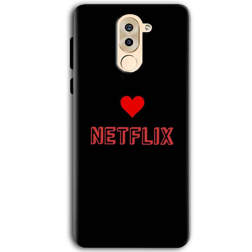 Huawei Honor 6X Mobile Covers Cases NETFLIX WITH HEART - Lowest Price - Paybydaddy.com