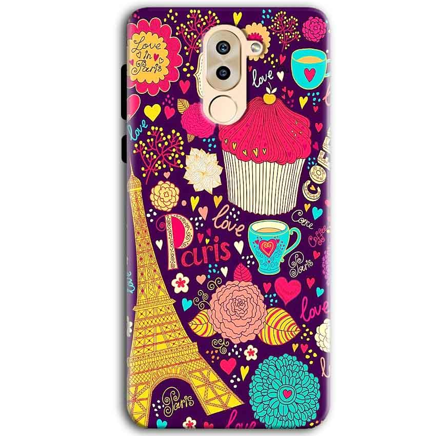 Huawei Honor 6X Mobile Covers Cases Paris Sweet love - Lowest Price - Paybydaddy.com
