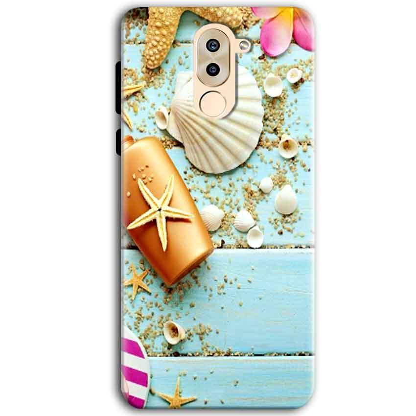 Huawei Honor 6X Mobile Covers Cases Pearl Star Fish - Lowest Price - Paybydaddy.com