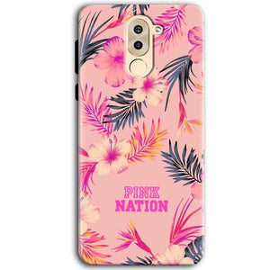 Huawei Honor 6X Mobile Covers Cases Pink nation - Lowest Price - Paybydaddy.com