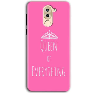 Huawei Honor 6X Mobile Covers Cases Queen Of Everything Pink White - Lowest Price - Paybydaddy.com