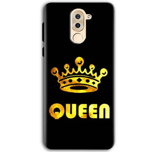 Huawei Honor 6X Mobile Covers Cases Queen With Crown in gold - Lowest Price - Paybydaddy.com