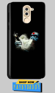 Huawei Honor 6X Mobile Covers Cases Shiva Aghori Smoking - Lowest Price - Paybydaddy.com