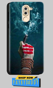 Huawei Honor 6X Mobile Covers Cases Shiva Hand With Clilam - Lowest Price - Paybydaddy.com