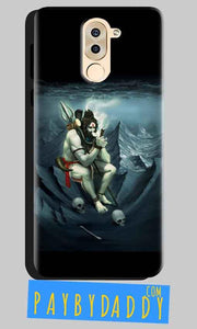 Huawei Honor 6X Mobile Covers Cases Shiva Smoking - Lowest Price - Paybydaddy.com