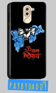 Huawei Honor 6X Mobile Covers Cases om namha shivaye with damru - Lowest Price - Paybydaddy.com