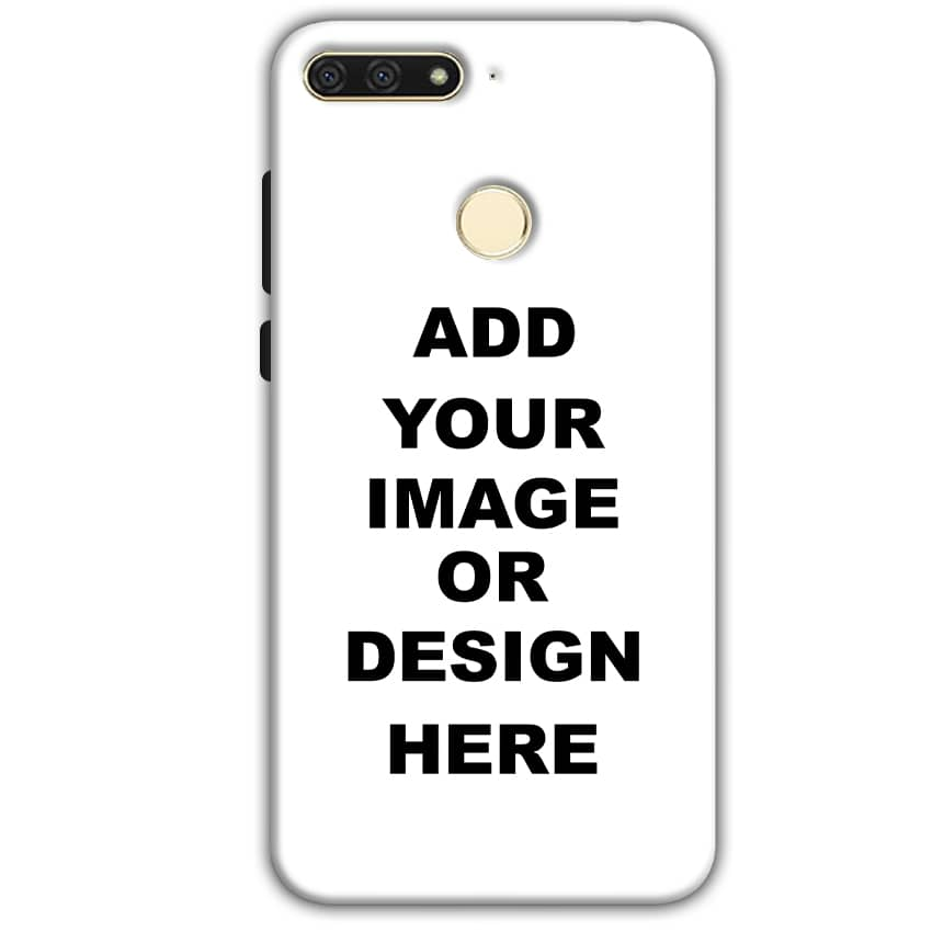 Customized Huawei Honor 7A Mobile Phone Covers & Back Covers with your Text & Photo