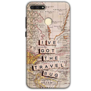 Huawei Honor 7A Mobile Covers Cases Live Travel Bug - Lowest Price - Paybydaddy.com