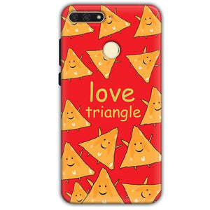 Huawei Honor 7A Mobile Covers Cases Love Triangle - Lowest Price - Paybydaddy.com