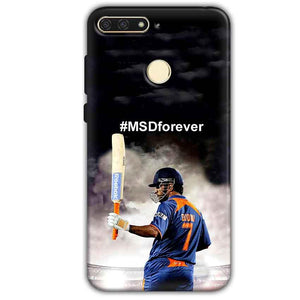 Huawei Honor 7A Mobile Covers Cases MS dhoni Forever - Lowest Price - Paybydaddy.com