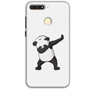 Huawei Honor 7A Mobile Covers Cases Panda Dab - Lowest Price - Paybydaddy.com