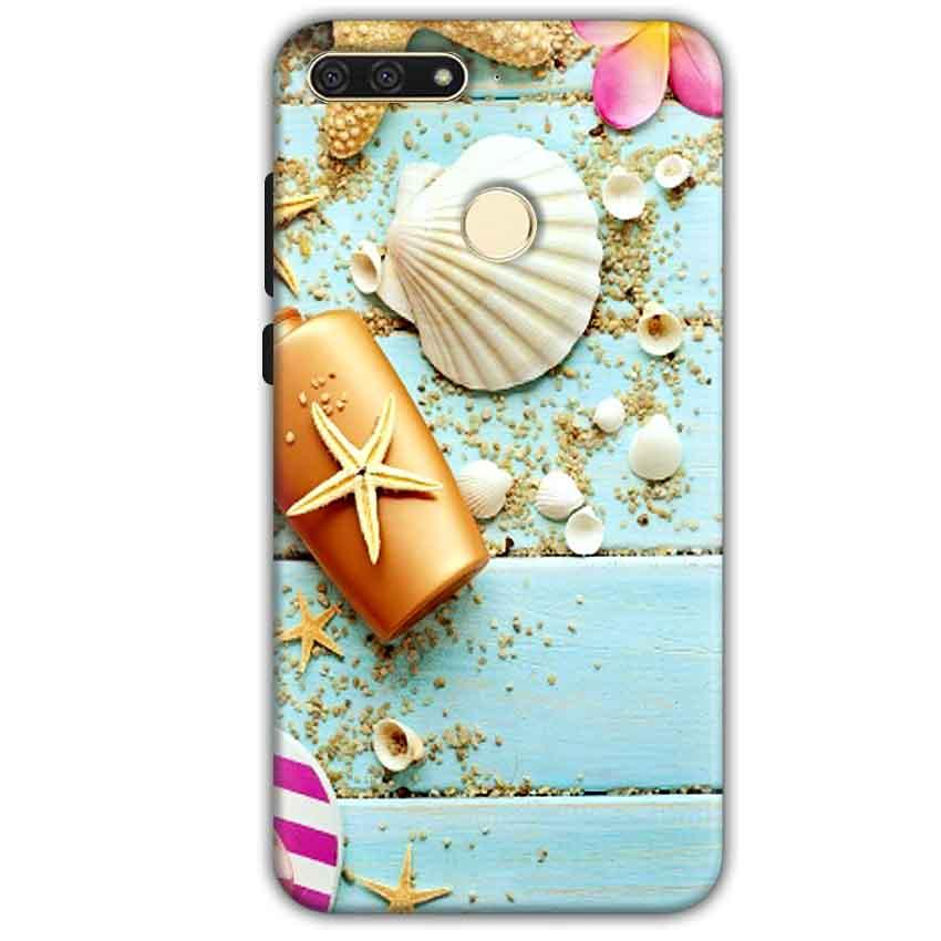 Huawei Honor 7A Mobile Covers Cases Pearl Star Fish - Lowest Price - Paybydaddy.com