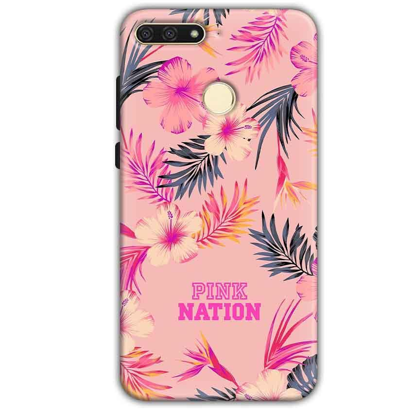 Huawei Honor 7A Mobile Covers Cases Pink nation - Lowest Price - Paybydaddy.com