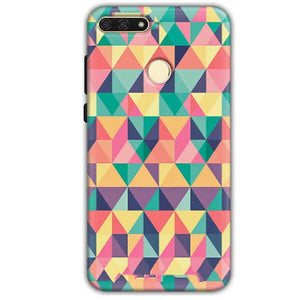 Huawei Honor 7A Mobile Covers Cases Prisma coloured design - Lowest Price - Paybydaddy.com