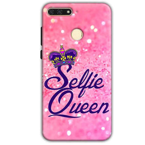 Huawei Honor 7A Mobile Covers Cases Selfie Queen - Lowest Price - Paybydaddy.com