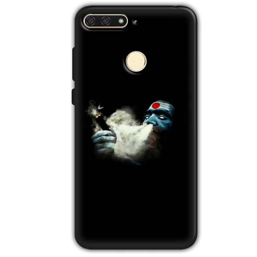 Huawei Honor 7A Mobile Covers Cases Shiva Aghori Smoking - Lowest Price - Paybydaddy.com