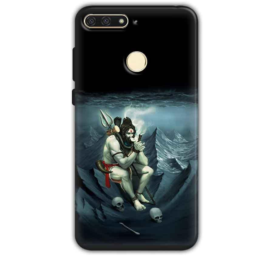 Huawei Honor 7A Mobile Covers Cases Shiva Smoking - Lowest Price - Paybydaddy.com