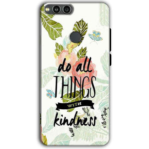Huawei Honor 7X Mobile Covers Cases Do all things with kindness - Lowest Price - Paybydaddy.com