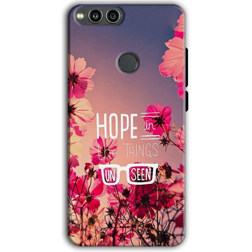 Huawei Honor 7X Mobile Covers Cases Hope in the Things Unseen- Lowest Price - Paybydaddy.com