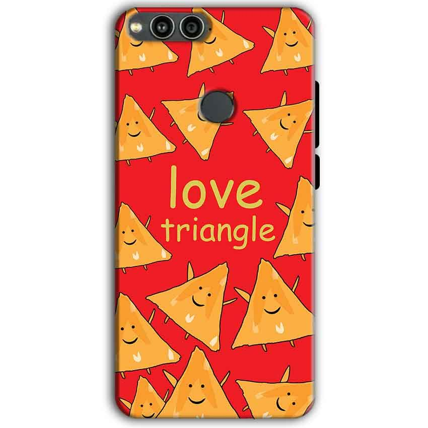 Huawei Honor 7X Mobile Covers Cases Love Triangle - Lowest Price - Paybydaddy.com