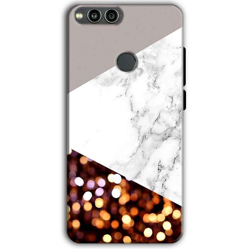 Huawei Honor 7X Mobile Covers Cases MARBEL GLITTER - Lowest Price - Paybydaddy.com