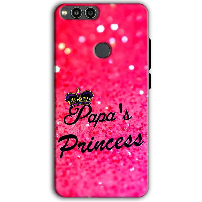 Huawei Honor 7X Mobile Covers Cases PAPA PRINCESS - Lowest Price - Paybydaddy.com