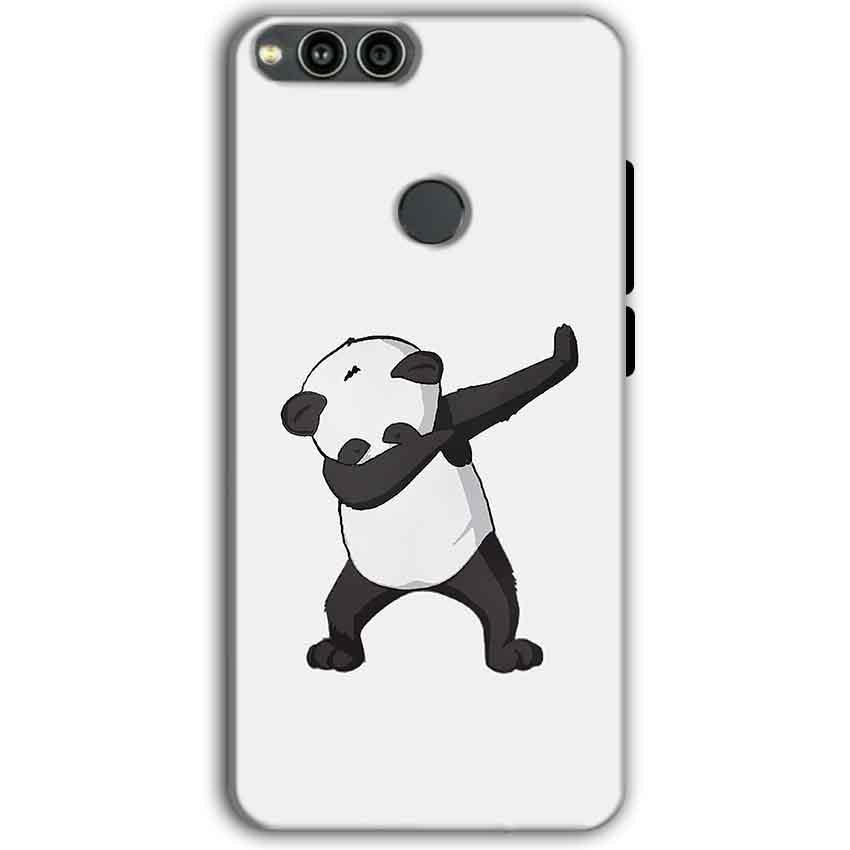 Huawei Honor 7X Mobile Covers Cases Panda Dab - Lowest Price - Paybydaddy.com