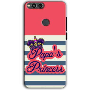 Huawei Honor 7X Mobile Covers Cases Papas Princess - Lowest Price - Paybydaddy.com