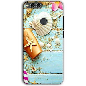 Huawei Honor 7X Mobile Covers Cases Pearl Star Fish - Lowest Price - Paybydaddy.com