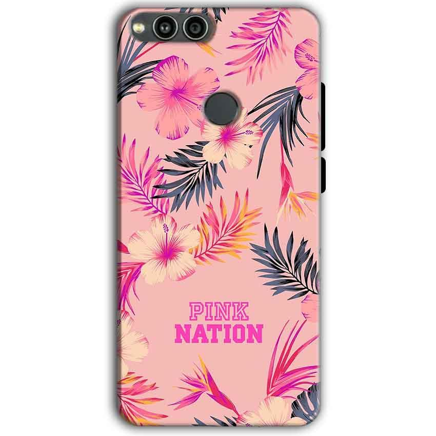 Huawei Honor 7X Mobile Covers Cases Pink nation - Lowest Price - Paybydaddy.com