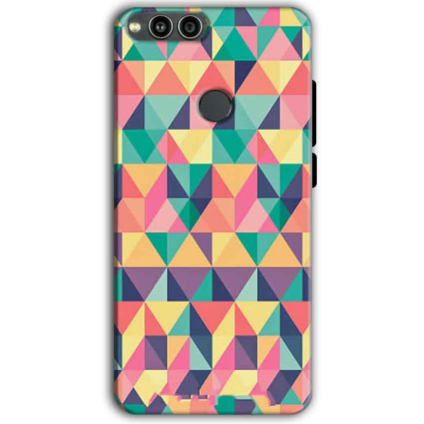 Huawei Honor 7X Mobile Covers Cases Prisma coloured design - Lowest Price - Paybydaddy.com