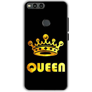 Huawei Honor 7X Mobile Covers Cases Queen With Crown in gold - Lowest Price - Paybydaddy.com