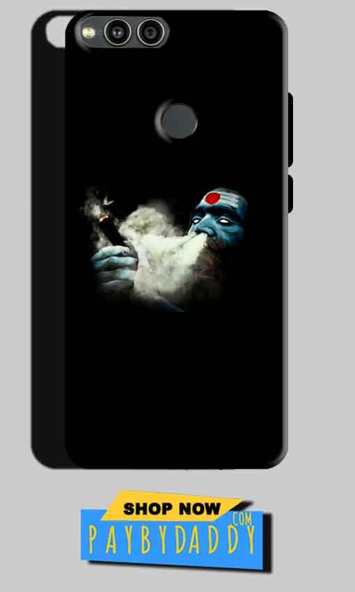 Huawei Honor 7X Mobile Covers Cases Shiva Aghori Smoking - Lowest Price - Paybydaddy.com