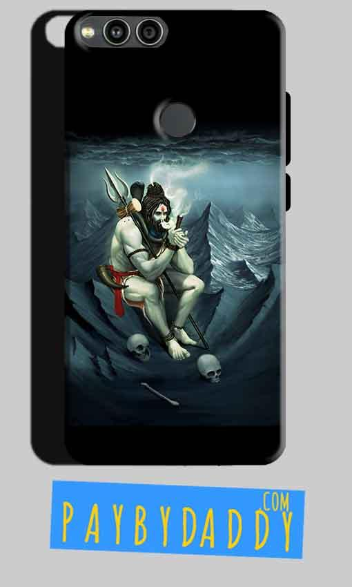 Huawei Honor 7X Mobile Covers Cases Shiva Smoking - Lowest Price - Paybydaddy.com