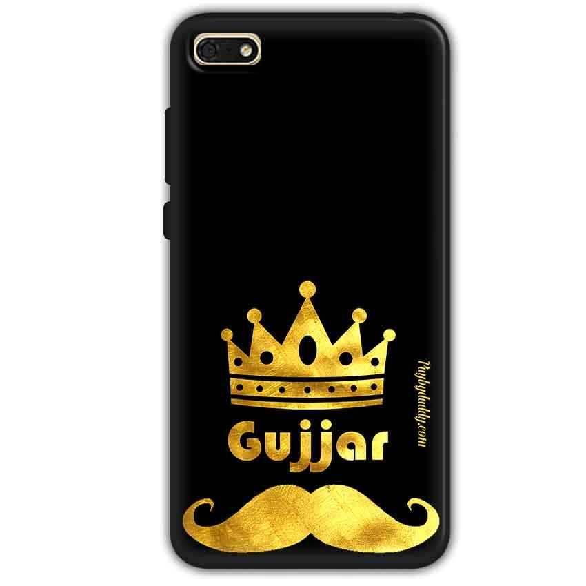 Huawei Honor 7s Mobile Covers Cases Gujjar with Mostaches - Lowest Price - Paybydaddy.com