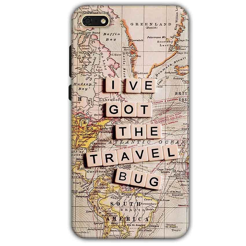 Huawei Honor 7s Mobile Covers Cases Live Travel Bug - Lowest Price - Paybydaddy.com