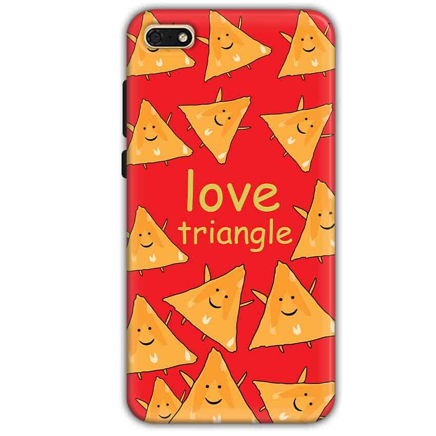 Huawei Honor 7s Mobile Covers Cases Love Triangle - Lowest Price - Paybydaddy.com