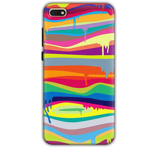 Huawei Honor 7s Mobile Covers Cases Melted colours - Lowest Price - Paybydaddy.com