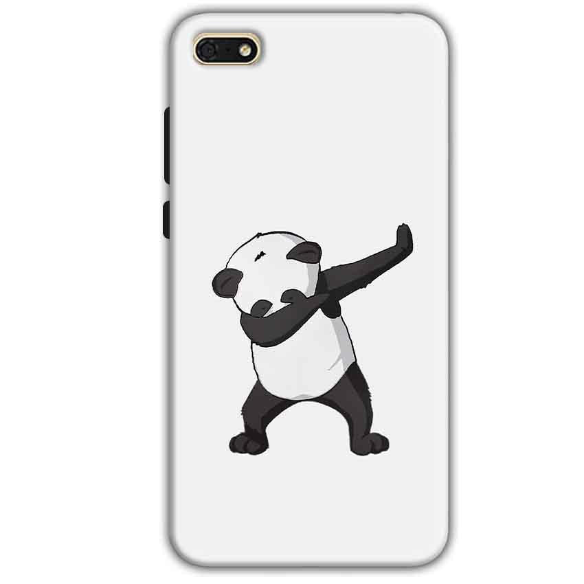 Huawei Honor 7s Mobile Covers Cases Panda Dab - Lowest Price - Paybydaddy.com